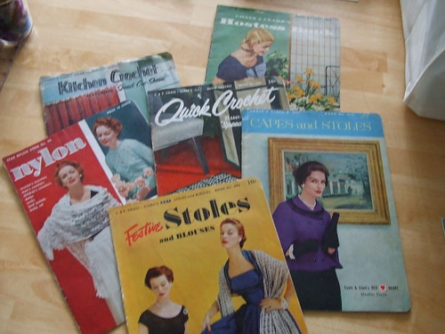 1950's Crochet & Knit Pattern Books From Grandma