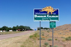 Welcome to Dinosaur, Colorado