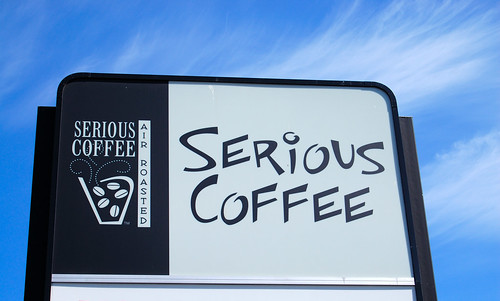 Serious Coffee Sign