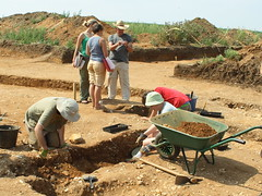 Archaeological dig at Sedgeford