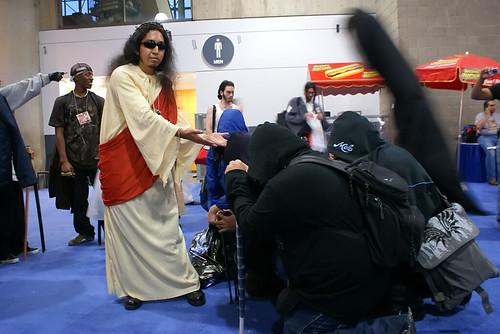 Jesus paid a visit