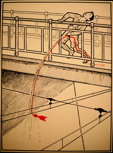 Don't pee on the electric tram lines