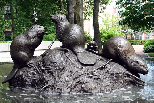 The Beaver Fountain