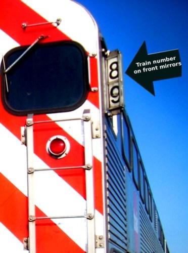 Caltrain train number