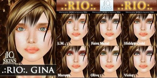 IC-Skins Rio Gina Neutral pink