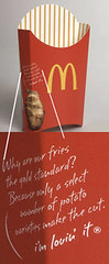 New packaging McDonald's