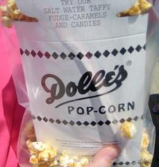 Dolle's caramel popcorn.  Yum!