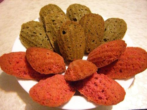 madeleines red_green