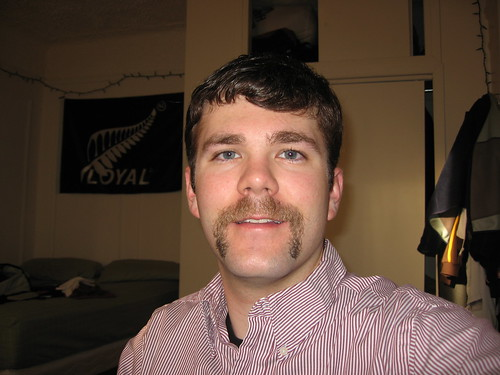 Movember 30th, 2007 - That is one sweet Mo!