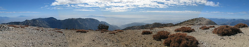 Summit Panorama Uncorrected South