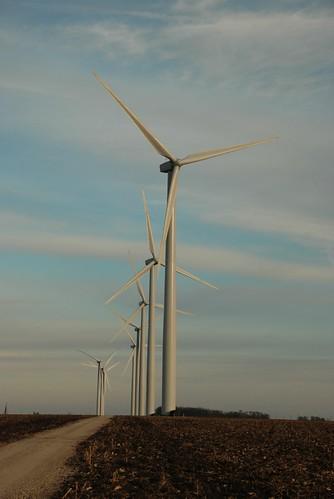 Wind Turbines Near Greene Iowa