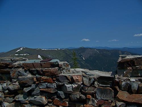 Penrose Peak Fire lookout base