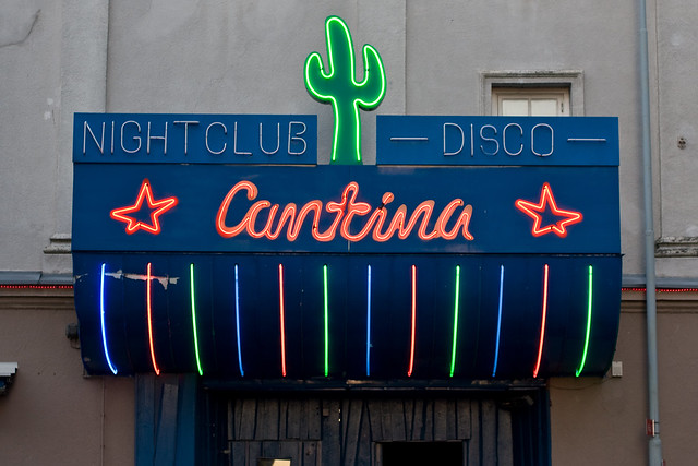 Cantina night club