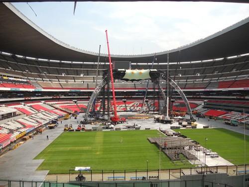 U2 360 Tour Mexico estadio azteca: La Garra II