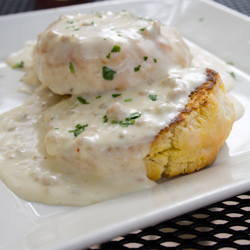 RECIPE: Vegan Biscuits & Gravy