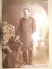 Portrait of Rosendo Rubi at the St. Louis Worlds Fair, 1904