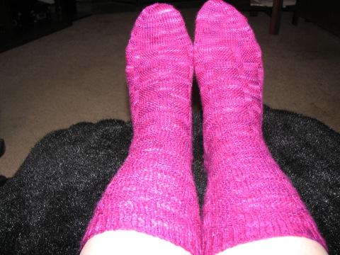 Stansfield 27 socks on feet