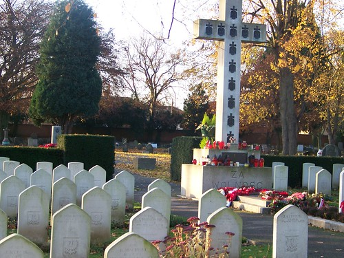 POLISH WAR GRAVE NEWARK CEMETERY UK by you.