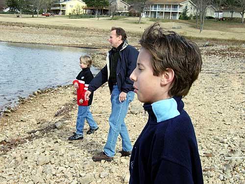 At the Lake - 2005