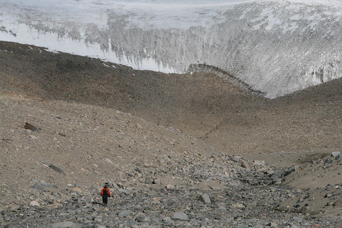 Nick at VonGuerard Glacier