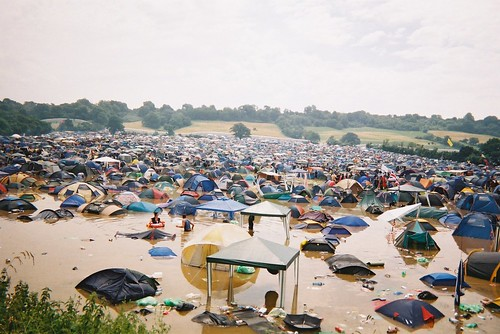 Glastonbury floods