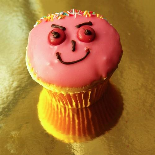 Bite me! I'm a cupcake with attitude!