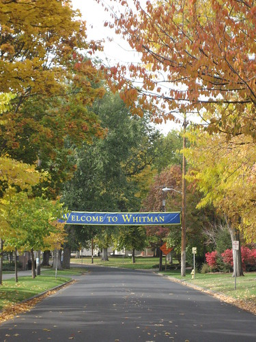 college campus at whitman