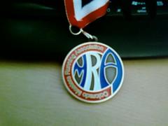 Nice medal for a $10 race