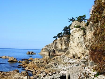 眼鏡岩海岸