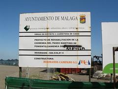 Paseo Maritimo Antonio Banderas