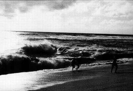 kids on shorebreak
