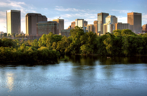 Richmond Skyline and James River