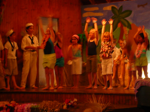 South Pacific - Nurses exercising