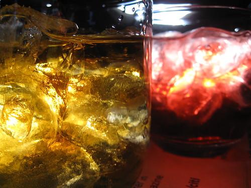 Scotch & Cranberry Juice