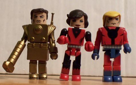 Tony Stark, Janet Van Dyne & Hank Pym