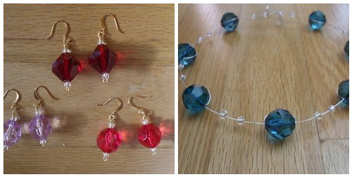 necklace and earrings kits!