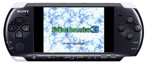 Game Seiken Densetsu 3 (SNES) pada PSP