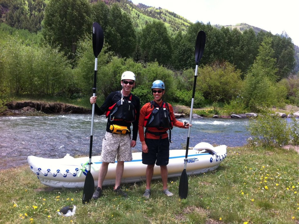 Kayaking the San Miguel River