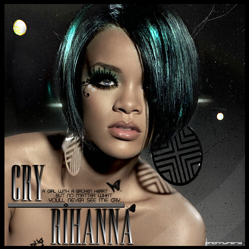 Rihanna / Cry / Dream by JhOnnii●Feriia●●●.