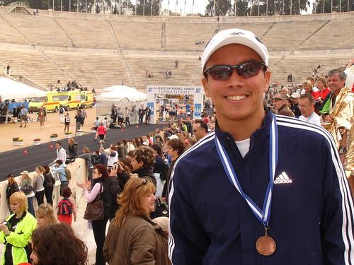 Mike_Athens Marathon - 4 Nov 2007