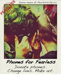 Donate phones to Fearless to help Vancouver downtown eastside artists and residents
