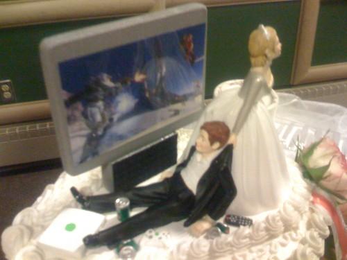 Wedding Cake Topper by EDubya.