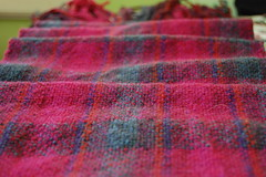 first handwoven scarf