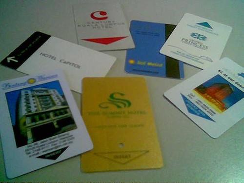 STP's hotel key cards 7