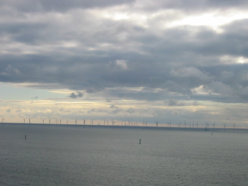 View from the Öresund bridge
