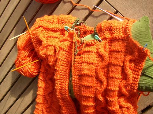 orange snakes saddle and half