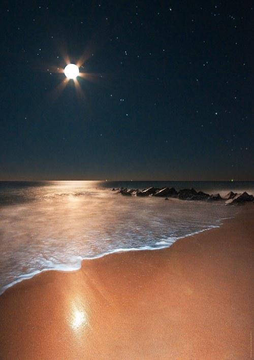 Moonshine, Orion Rising on Vilano Beach