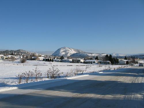 View of Mount Boucherie....