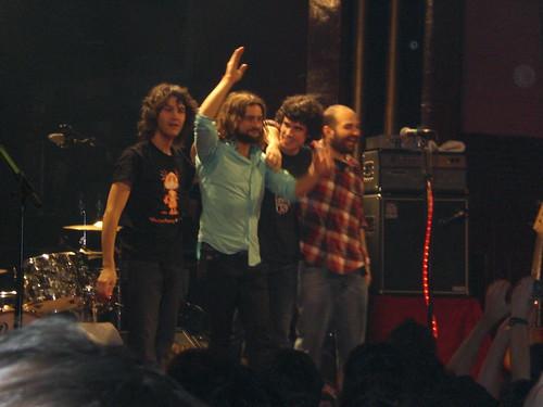 Javi Pedreira, Quique González, Karlos Arancegui y Jacob Reguillón