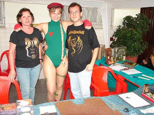 Zuleica, Cammy e Rodrigo